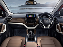 Tata Harrier front interior