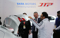 Tata Motors Auto Expo Connecting aspiration